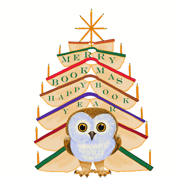 Book Owlie / Merry Bookmas and a Happy Book Year
