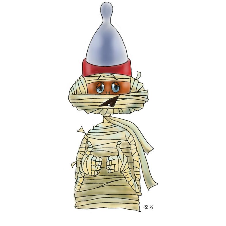Handsome Mr Mummific