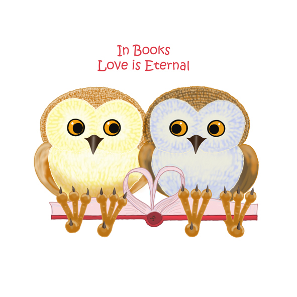 Book Owlie / In books love is eternal